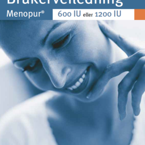 Brukerveiledning Menopur 600 IU og 1200 IU