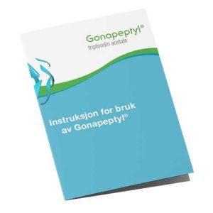 Instruksjon for bruk av Gonapeptyl