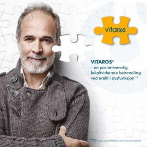 Vitaros® (alprostadil), produktbrosjyre